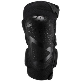 Leatt 3DF 5.0 Zip Knee Guards Black